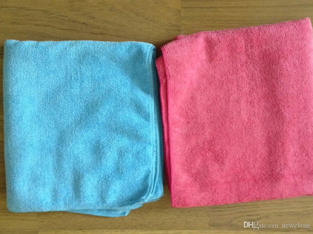 Blau 40x90cm Mikrofaser-Tuch-Auto-Reinigungs Küchentuch extrem saugfähig Waschtuch für Autos gute Qualität