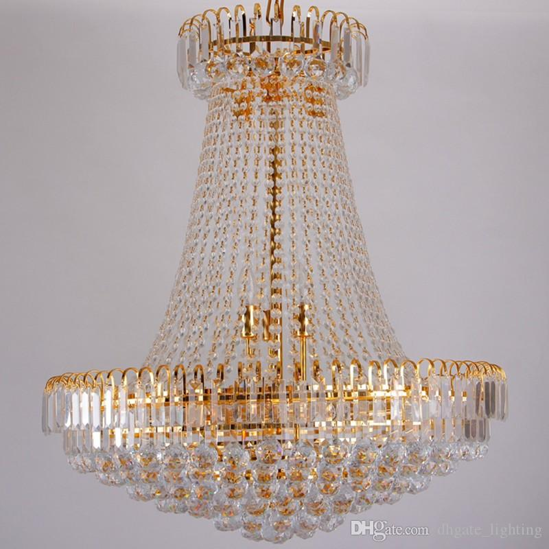 Wholesale Luxury Royal Empire Golden Europen Crystal Chandelier ...