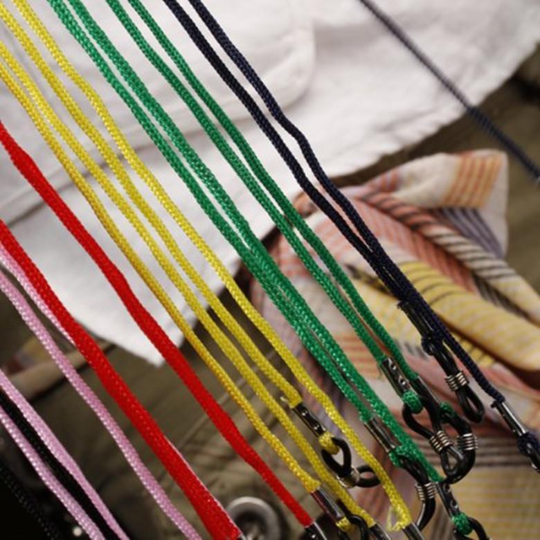 barato por atacado anti-derrapante muti-cor óculos de leitura óculos de corda cordão pescoço retentor cinta com bom laço de silicone