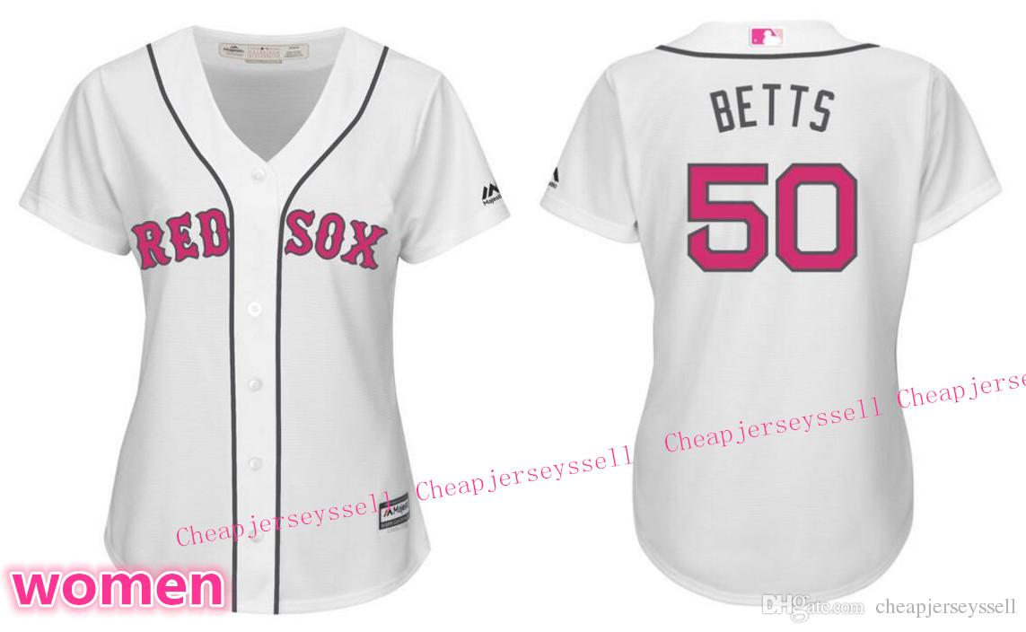 2018 women 39 s new boston red sox mookie betts white mother 39 s day jersey majestic cool base jersey. Black Bedroom Furniture Sets. Home Design Ideas