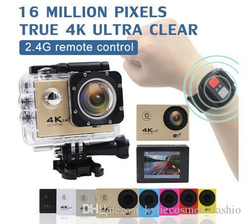 F60 Action Kamera Wifi 4 K Hd 16mp 170d Wasserdichte Sport Action Kamera Für Tauchen Fahrrad Sport Dv Helm Cam Kamera Zubehör Sport & Action-videokamera