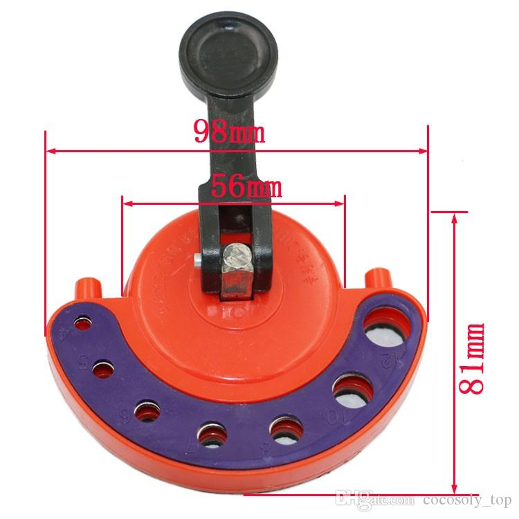 4-12mm Diamond Drill Bit Tile Glass Hole Saw Core Bit Guide With Vacuum Base Sucker Tile Glass openings Locator