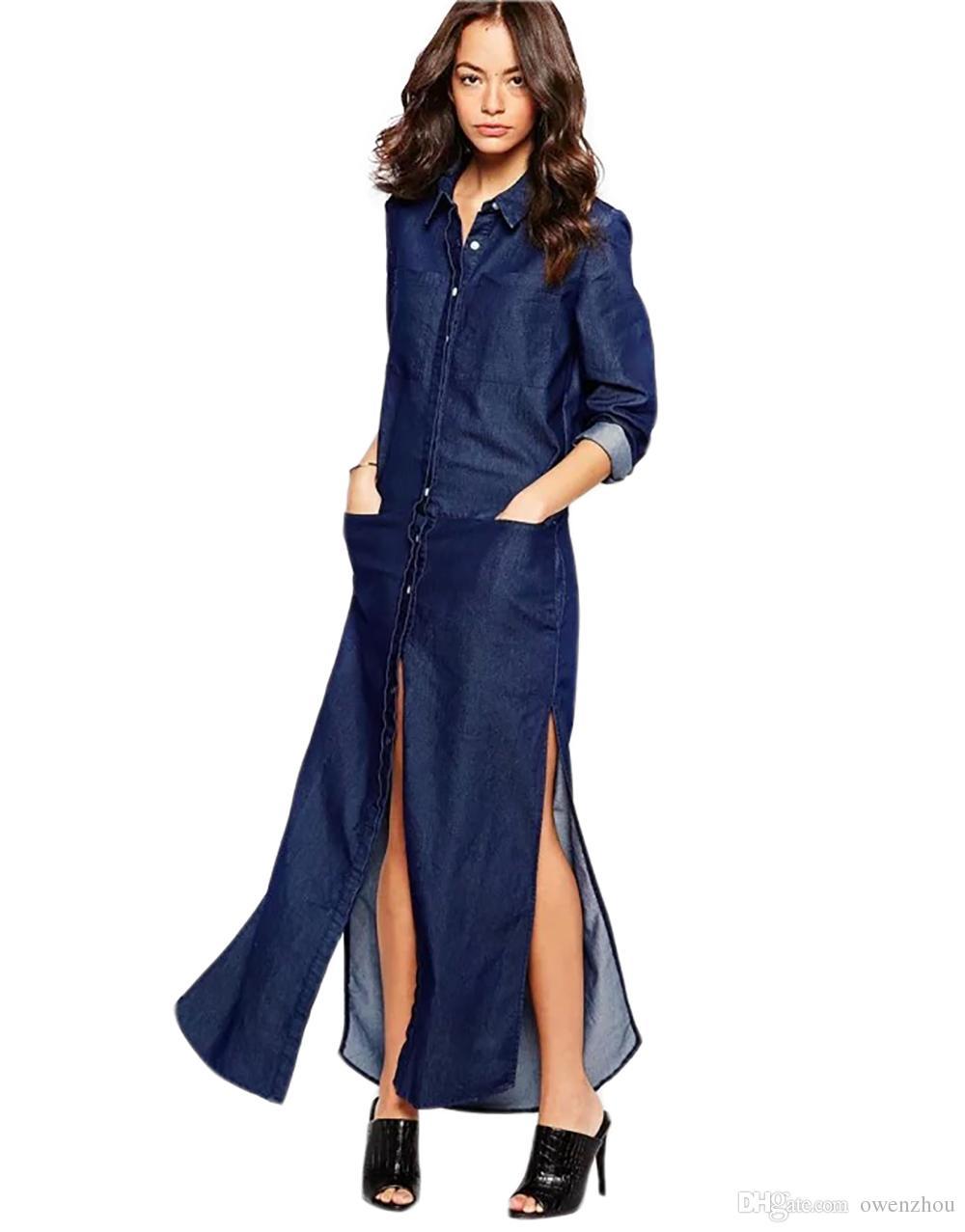 gro handel frauen jeans kleider 2017 fr hling herbst volle. Black Bedroom Furniture Sets. Home Design Ideas