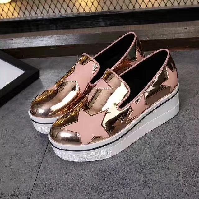 f6c328ac0283 Stella Mccartney Shoes Slip-on Stars Wedges Platform Genuine Leather Stella  Mccartney Stella Shoes Stella Mccartney Shoes Online with  143.72 Piece on  ...