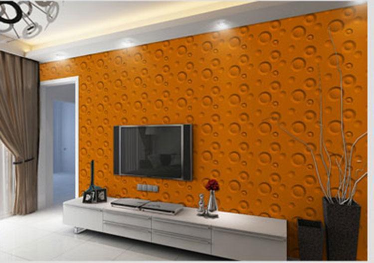 New Design 3D PVC Wall Panel For Livingroom Waterproof