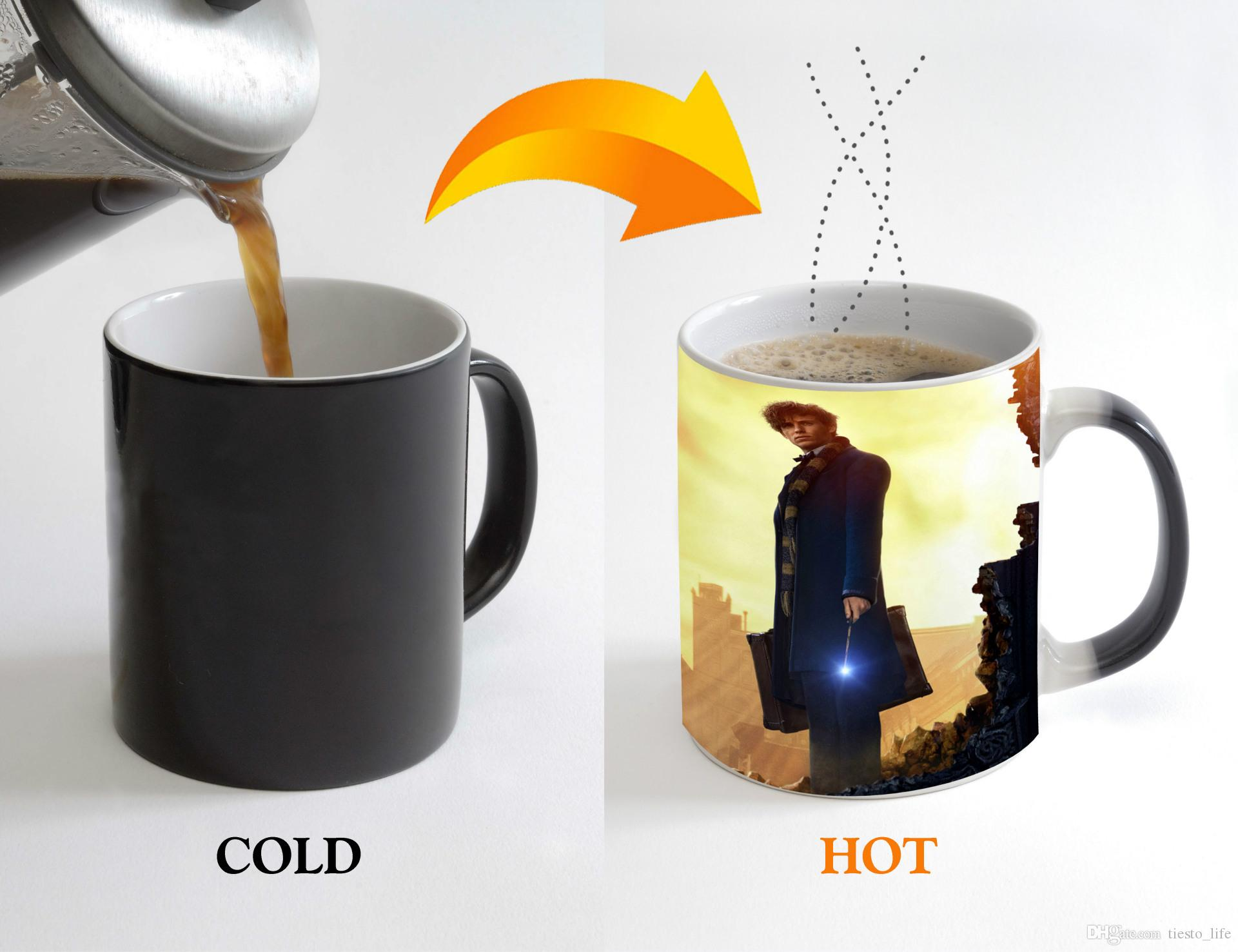 fantastic beasts and where to find them mug color changing mugs heat