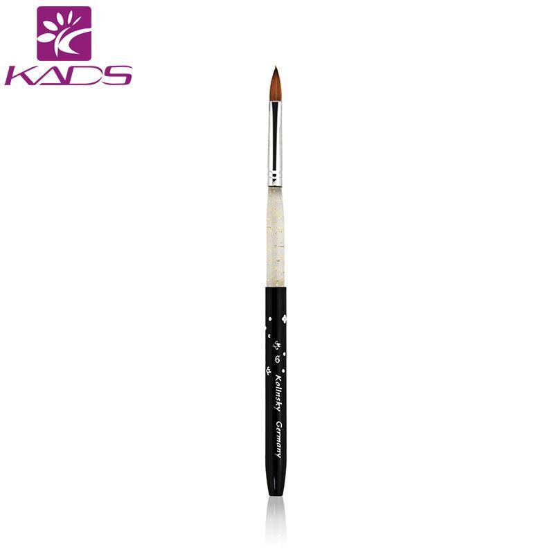 Wholesale Kads 6# Black Kolinsky Sable Brush Professional Kolinsky ...