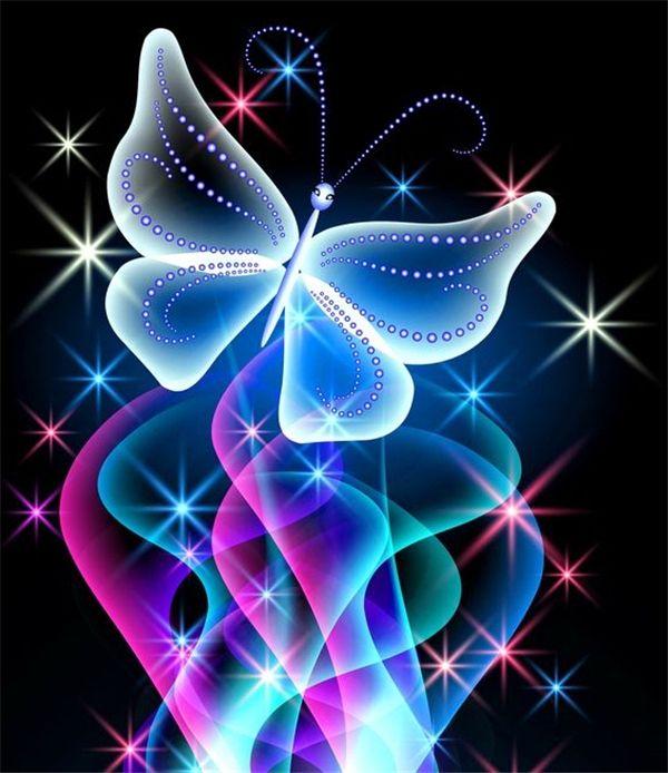 5D travaux de bricolage diamant peinture point de croix kits complète résine plein diamant carré broderie mosaïque Home Decor fleur papillon zxh0085