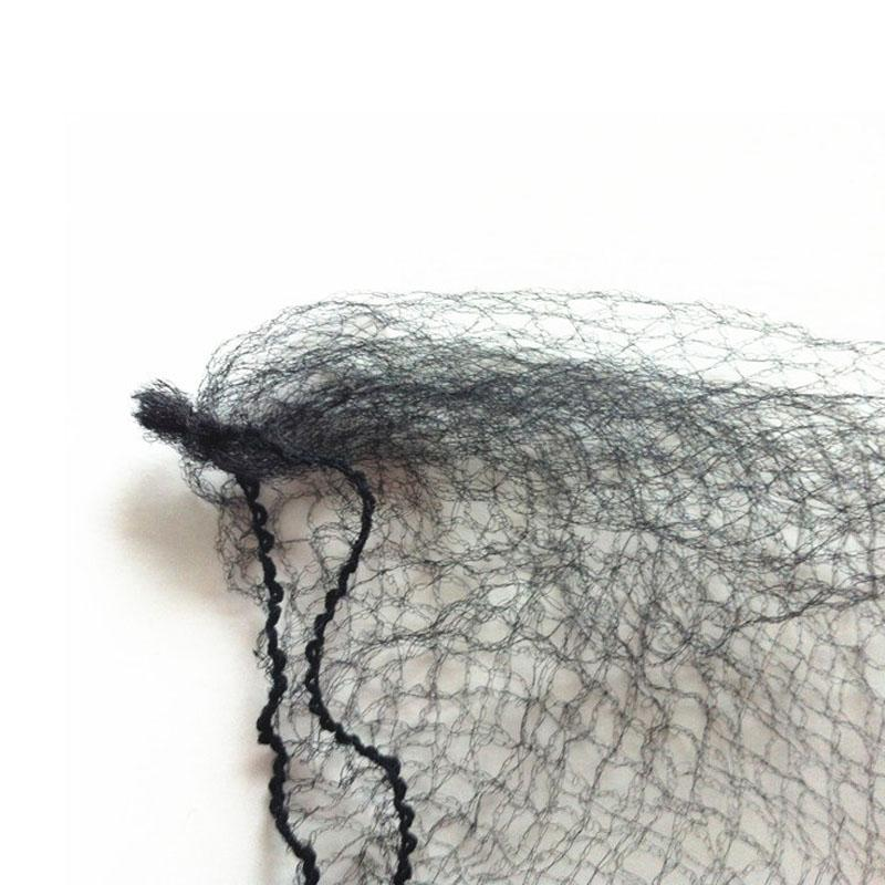 Cheap Ultrafine Invisible Elastic Hair Net Mesh Wig/Toupee/Hair Extension Protection Hairnet Black Color 6-50 inch