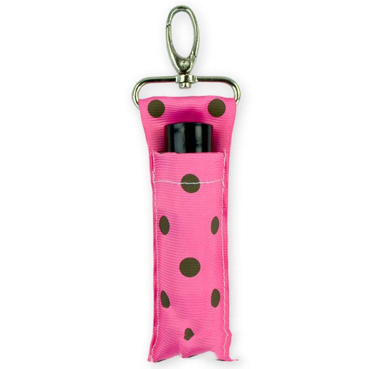 Eco-Friendly Pois Rouge à lèvres Porte-Chapstick Porte-Trousseau Rouge à lèvres Lip Sac pochette Palm-clé Mère Filles Cadeaux