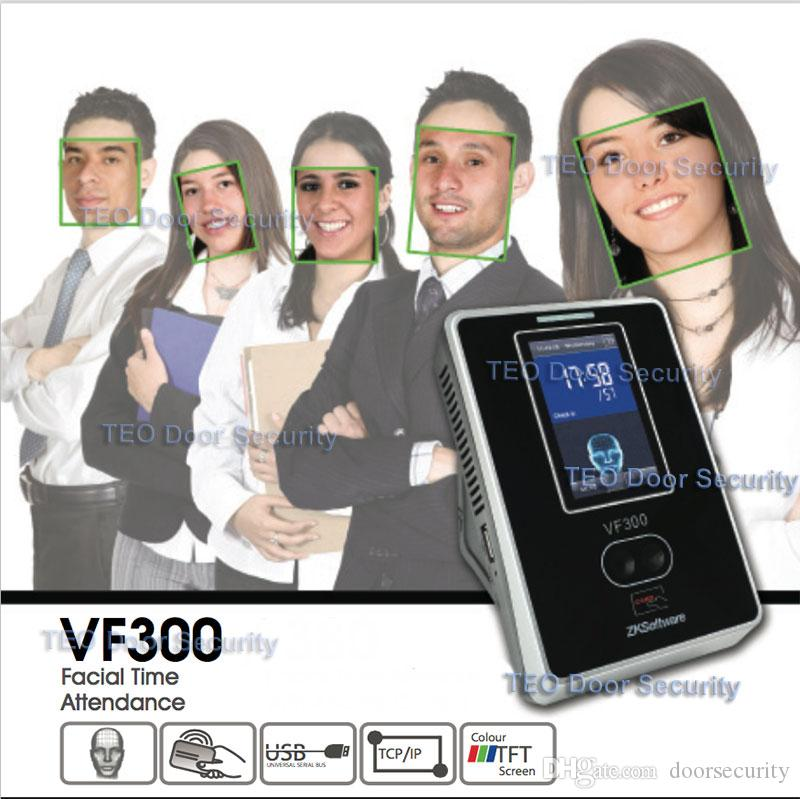Facial+RFID Card Attendance Time Clock Touch Screen+TCP//IP+USB//VF300