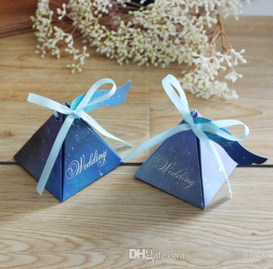 wedding cake boxes for guests new 2017 creative sky wedding favor box 8577