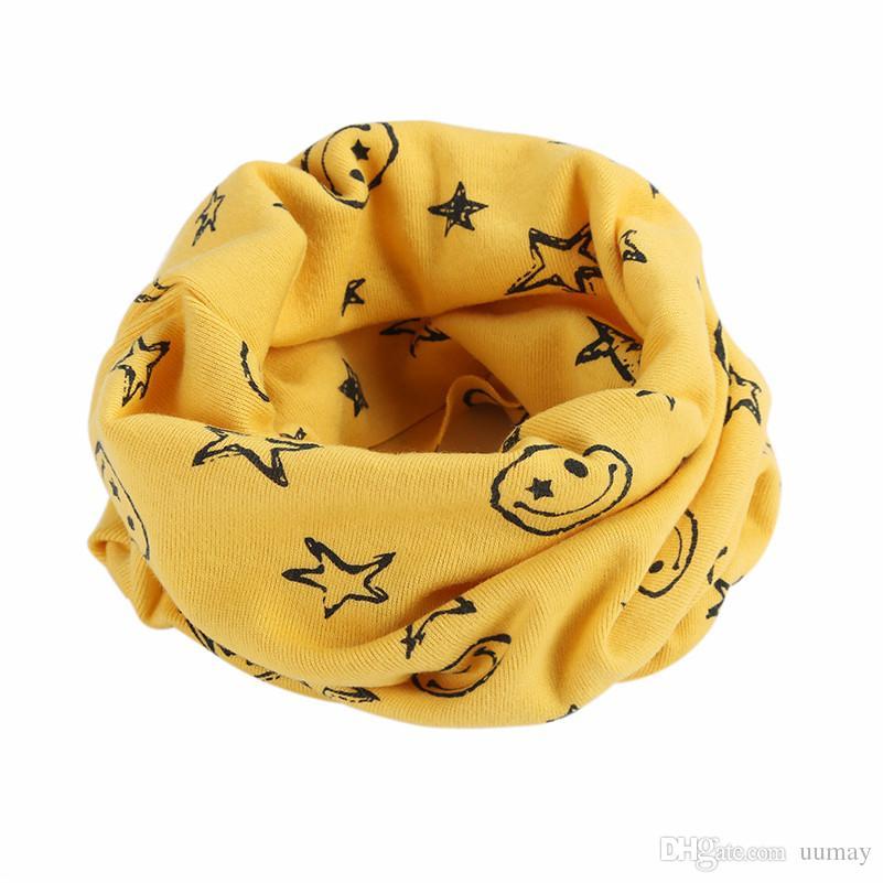 Hot Selling Fashion New Multicolor Children Warm Cotton Scarf Boy Girl Scarf Shawl Winter Neckerchief