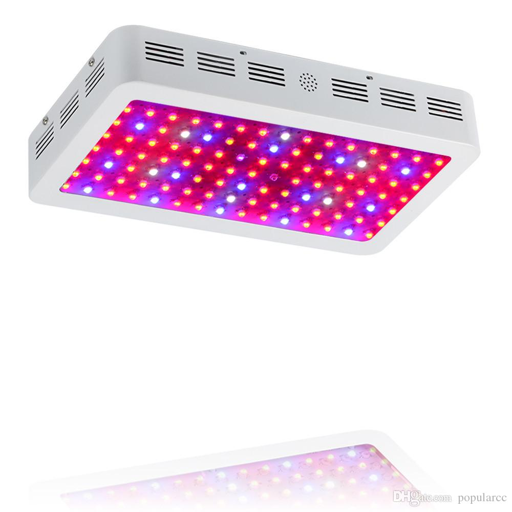 1200W LED Grow Light Full Spectrum Indoor Grow Lights LED for Plants Veg  Flowering Seedling 120x10W 1200 Watt LED Grow Light Kit