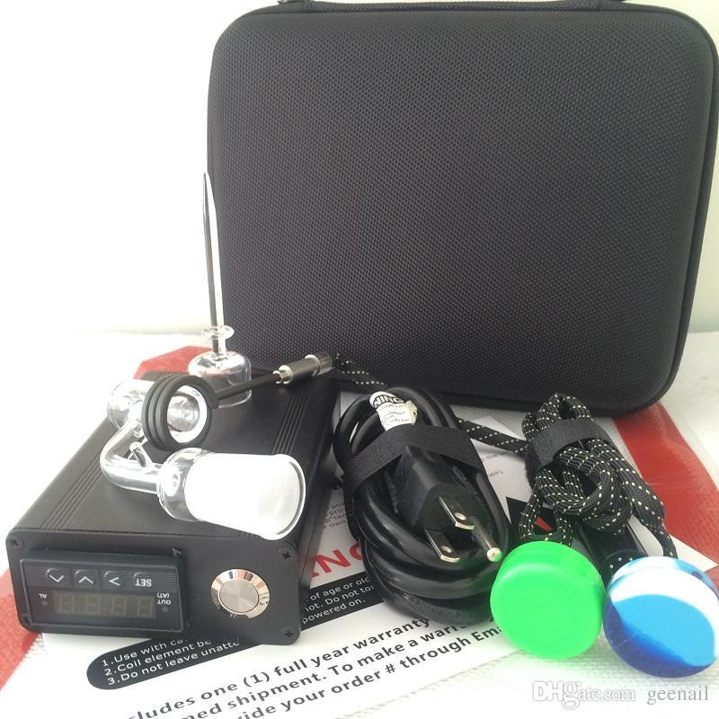 Quartz E dab kit chiodo dab elettrica chiodo 18 millimetri 14 millimetri maschile femminile chiodo electroic scatola dabber PID tamponare con quarzo tappo carb