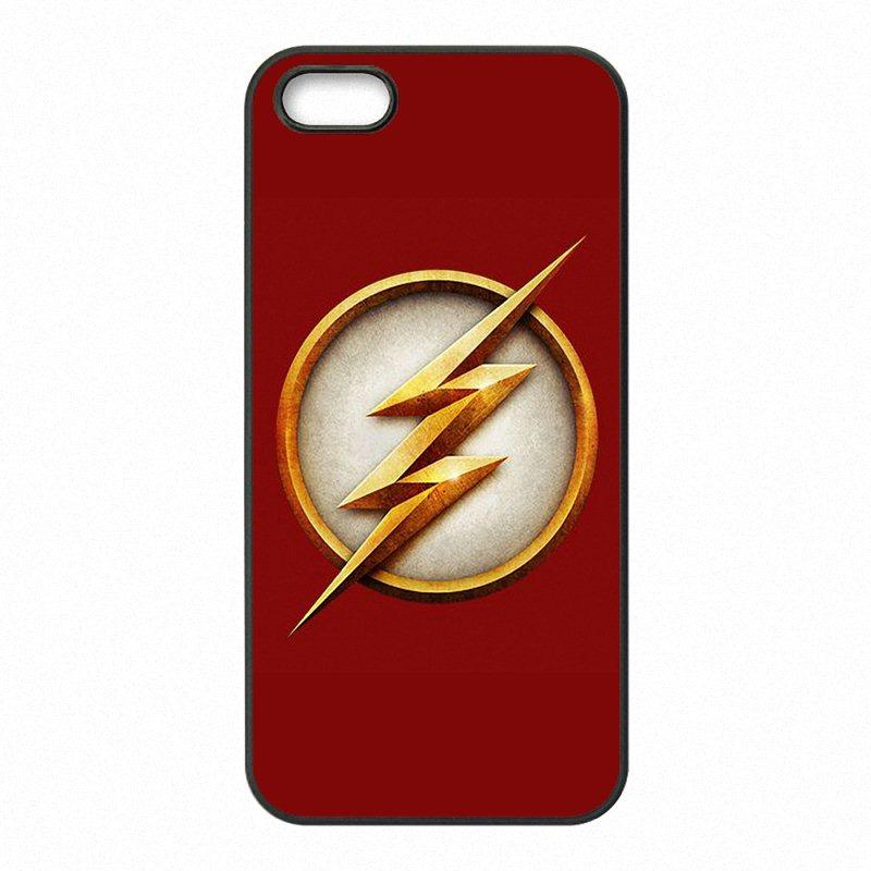 best sneakers 9f691 e6043 The Flash DC Comics Phone Covers Shells Hard Plastic Cases for iPhone 4 4S  5 5S SE 5C 6 6S 7 Plus ipod touch 4 5 6