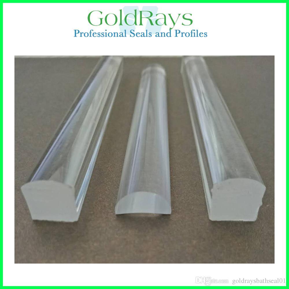 2019 Shower Enclosure Acrylic Clear Plastic Edging Strip