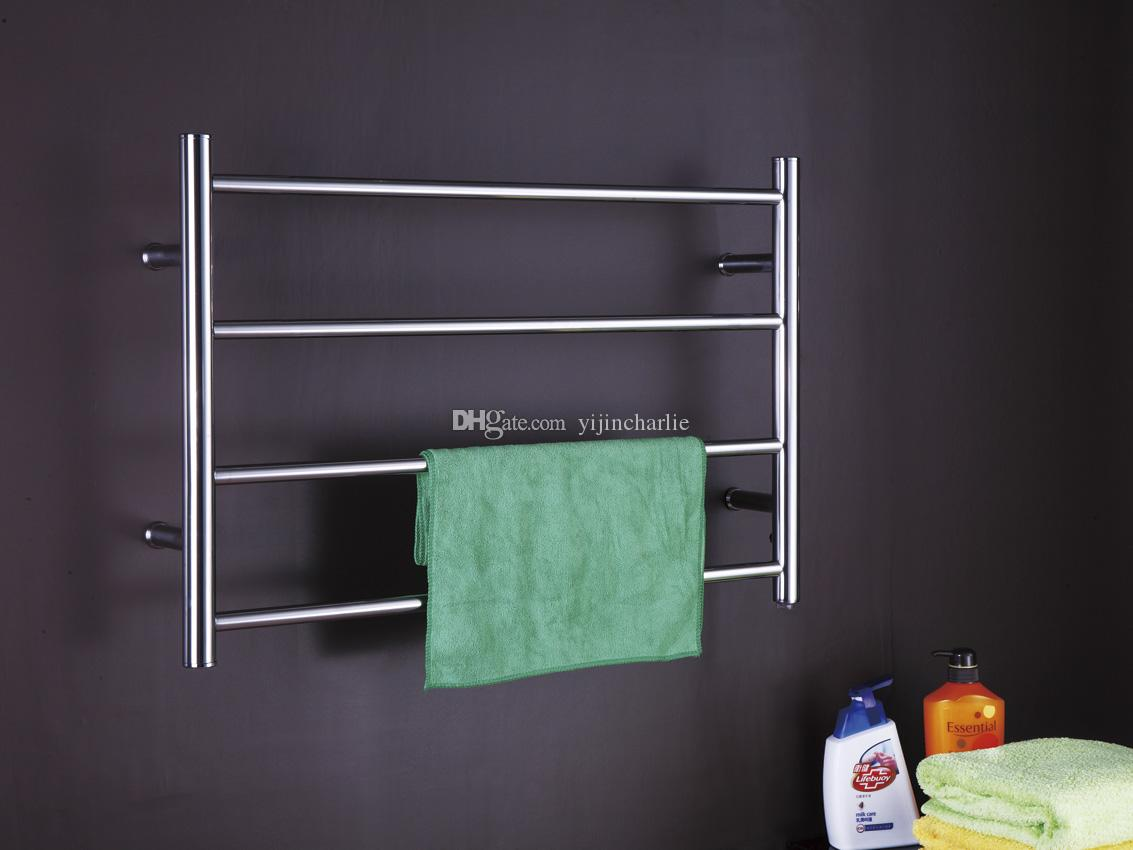 2018 Bathroom Small Towel Warmer Electric Heated Towel Rail Rack Tw ...