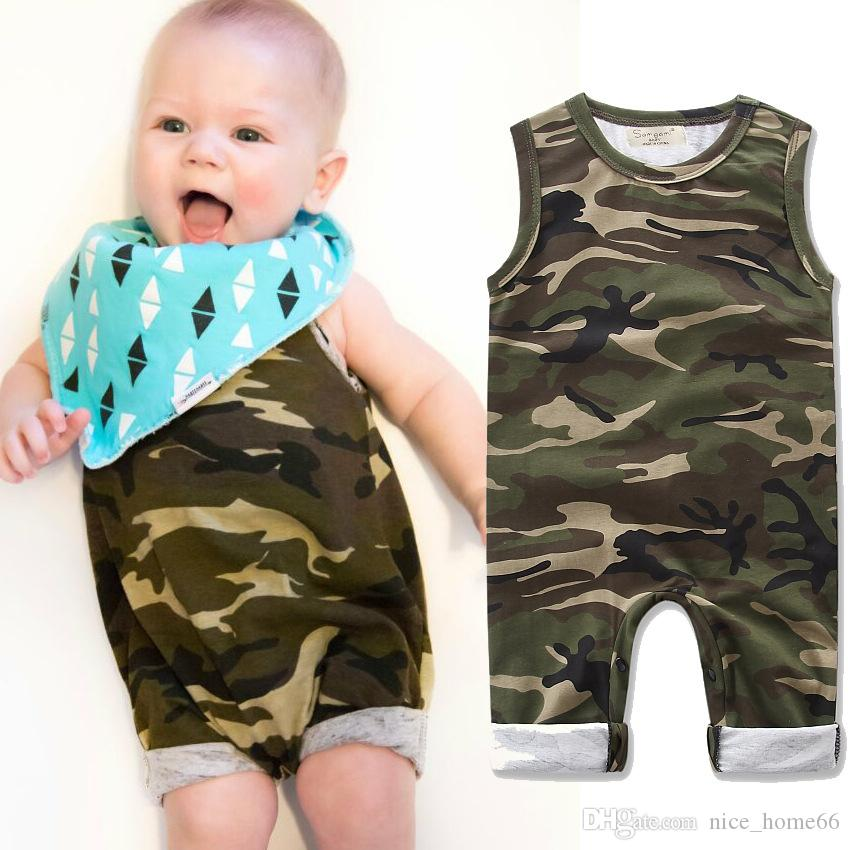 Toddler Infant Kids Baby Boy Girl Cotton Romper Jumpsuit Bodysuit Clothes Outfit