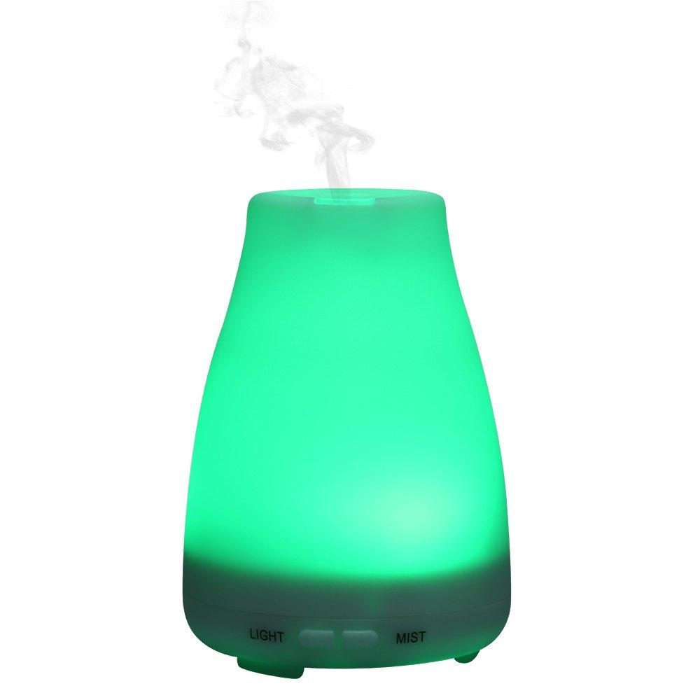 detailing f4a48 5a8ba Ultrasonic Humidifier Essential Oil Aroma Diffuser Air Humidifier Mist  Maker Dry Protect LED Light Change Facial Skin Care Sensitive Skin Care  From ...