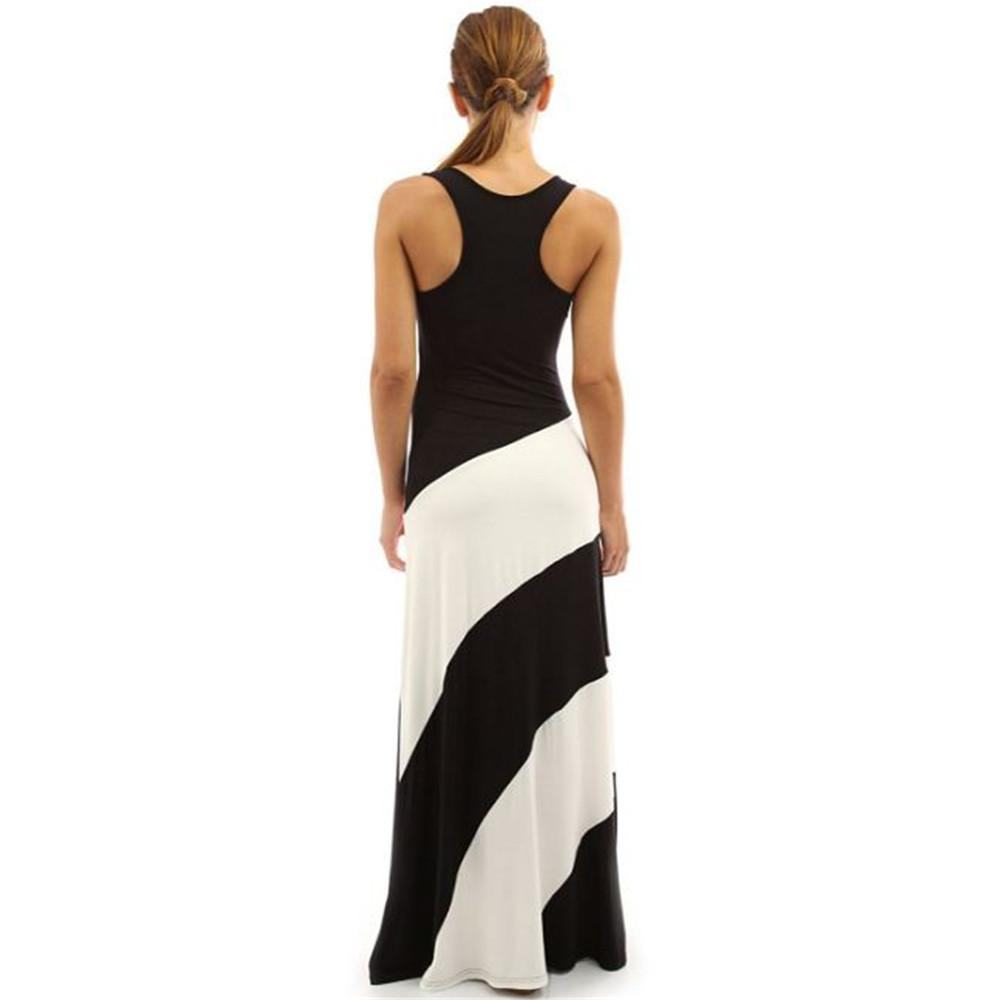 New Women maxi dresses clothing Vest Tank Maxi Dresses bodycon casual dress Summer Long Dresses Sleeveless ouc442