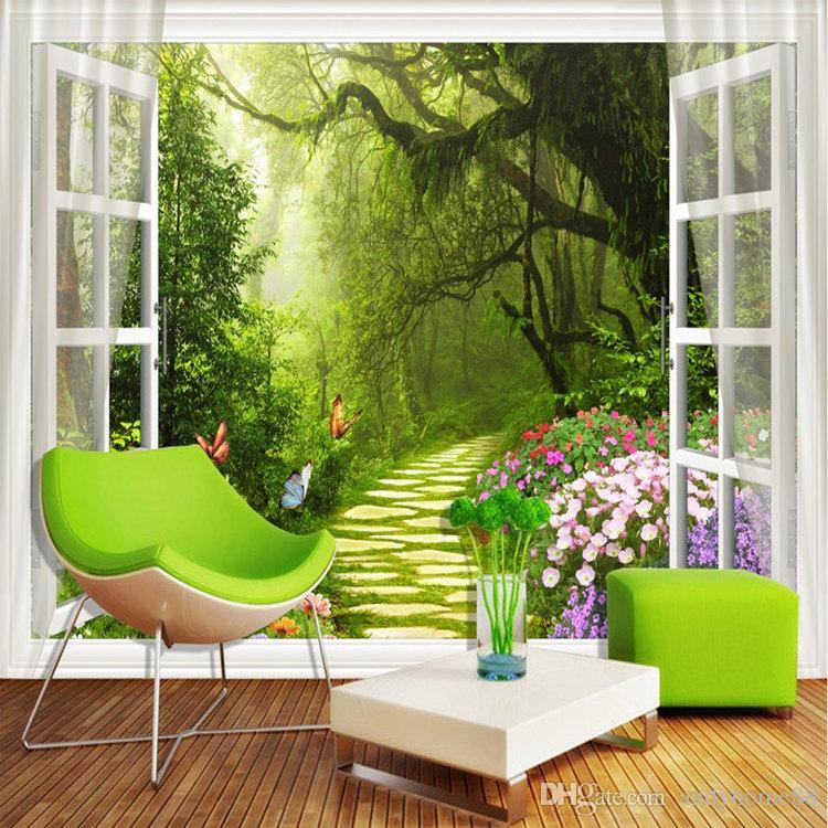 Großhandel 3d Große Wandbild Wohnzimmer Sofa Stereo TV Hintergrund ...