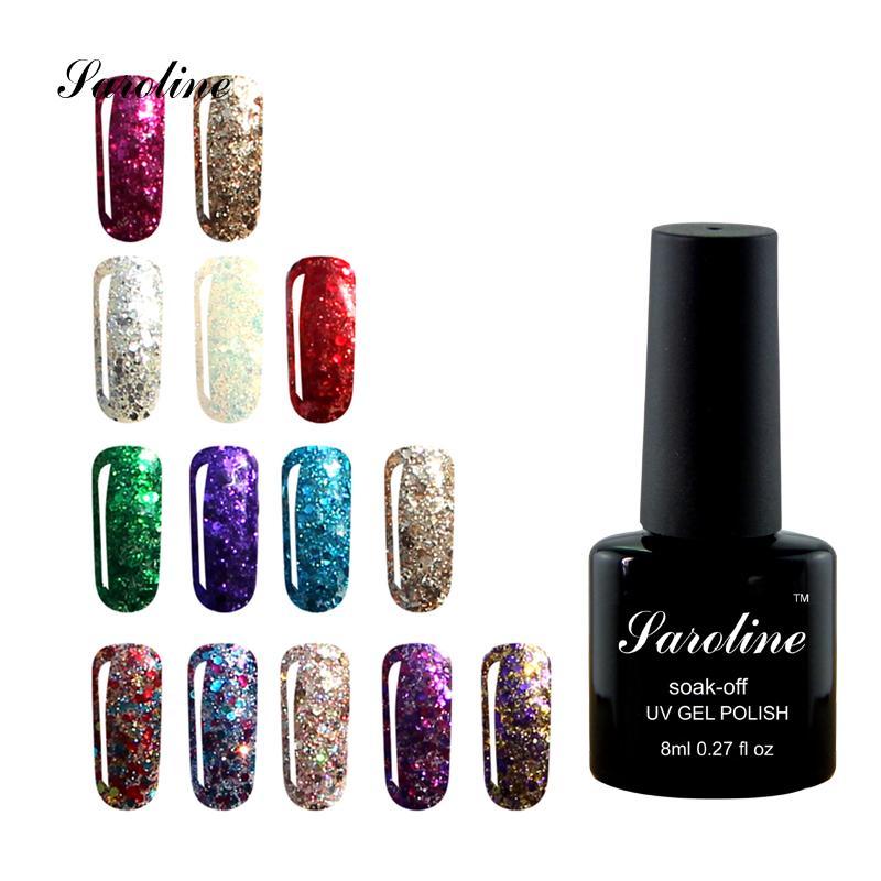 Wholesale- Saroline Nail Art Printer Nails Diamond Glitter Lucky ...