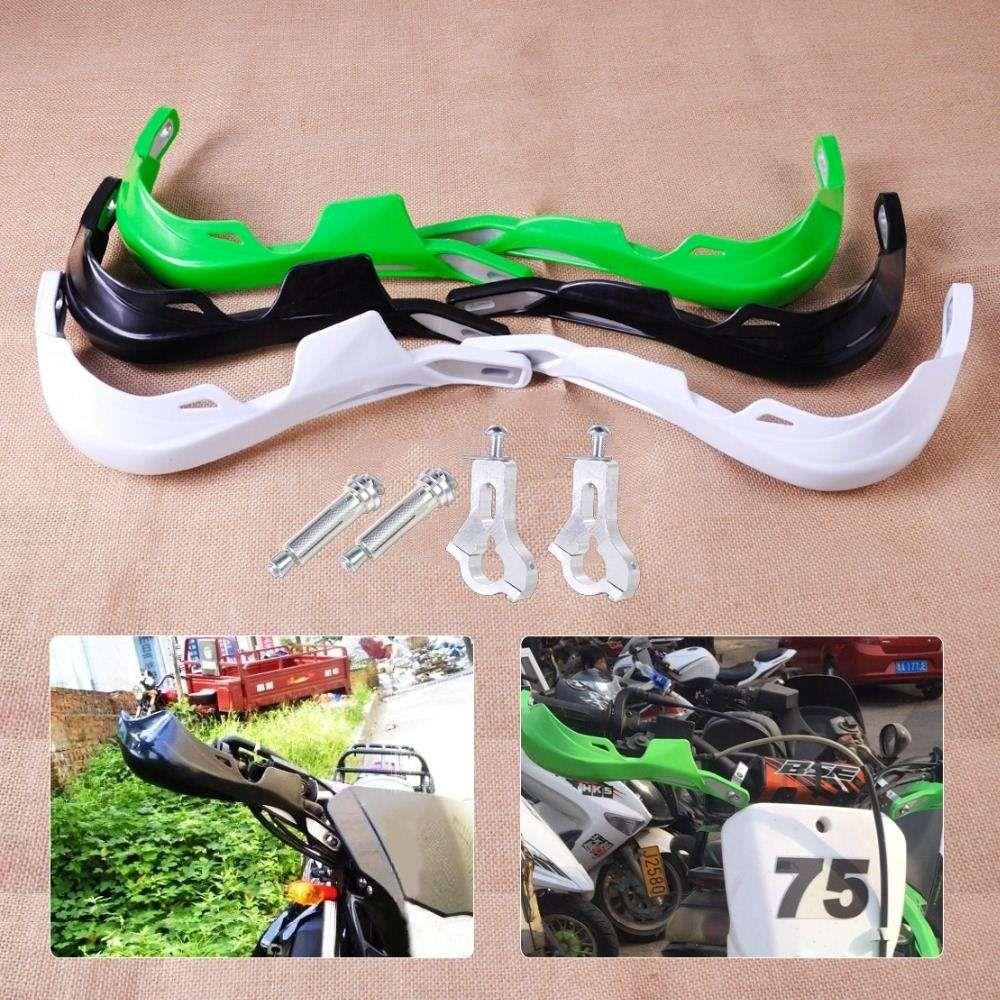 7/8 Motorcycle Motocross Dirt Bike Dual purpose Scooter Brush Bar Hand  Guards Handguard For Suzuki Kawasaki Yamaha Honda