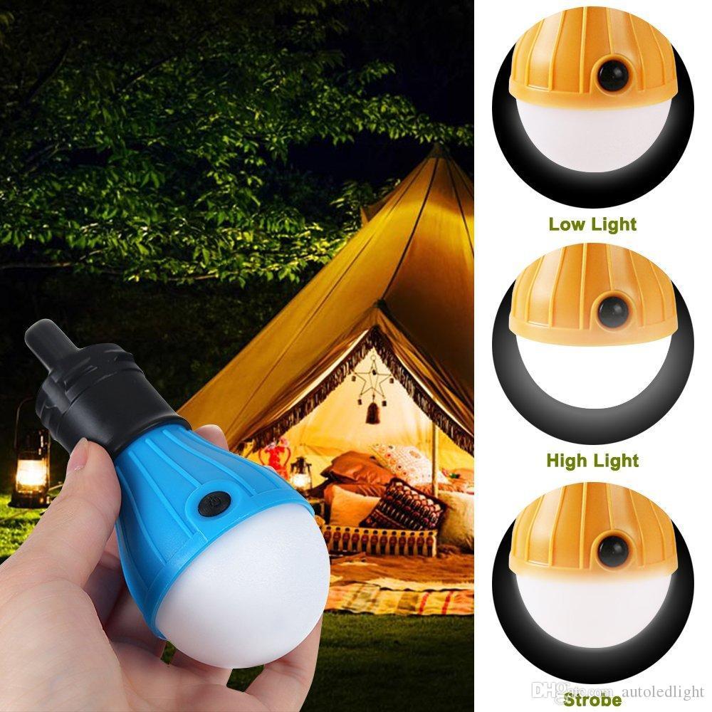 Ratisser extérieur tente lampe camping Portable Led Lanterne Tente jaune Ampoule Randonnée d'urgence pour les enfants