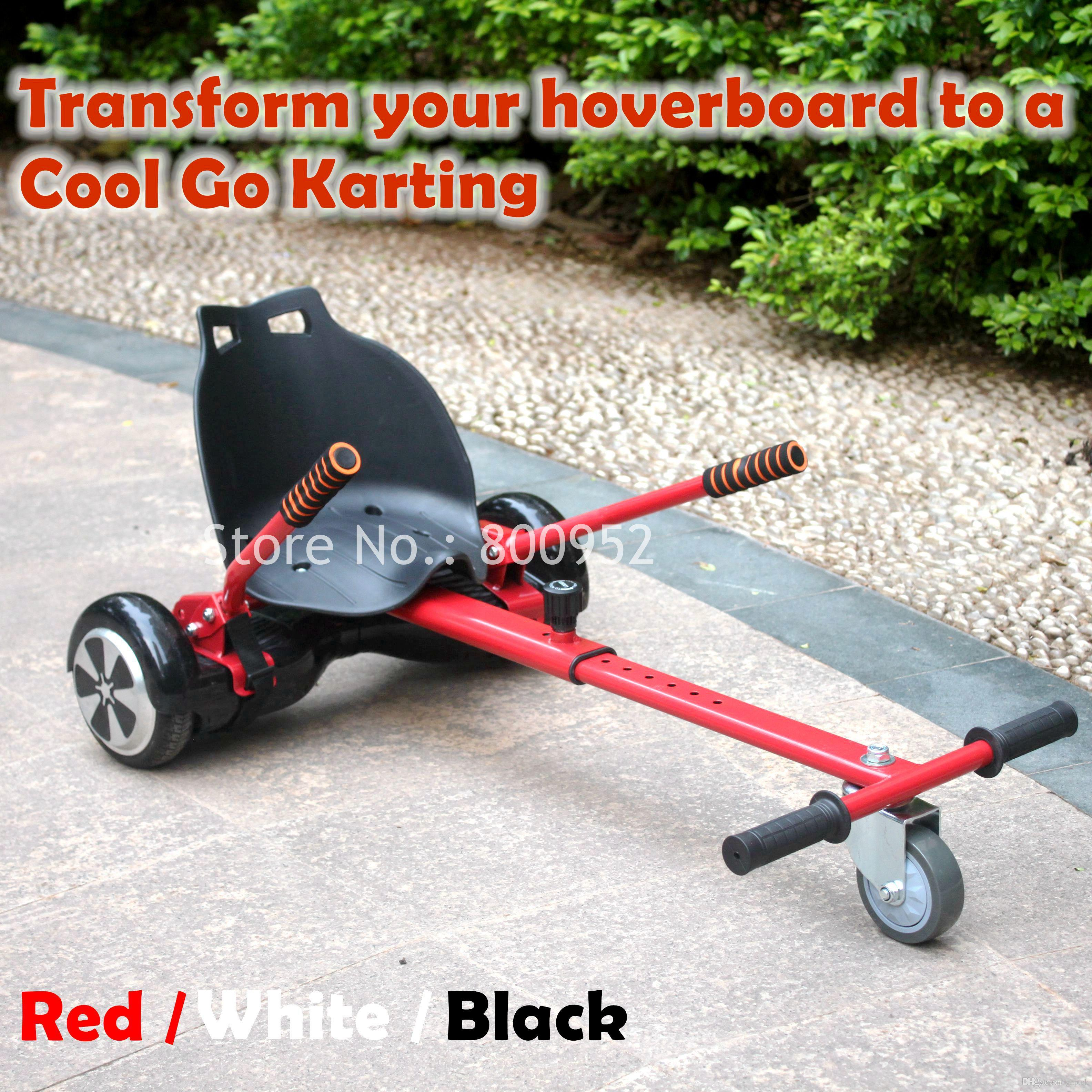 Hoverboard Plans 2017 Cool Mini Go Kart Hoverkart Hoverseat Diy Accessories For 65