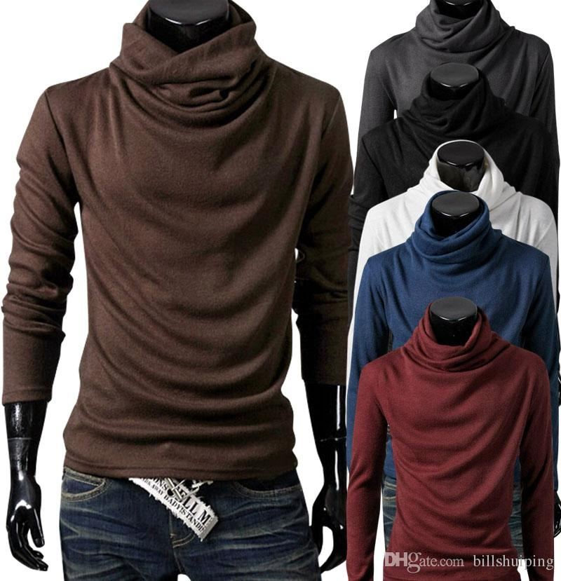 New Original Unique Design Mens T Shirts Long Sleeve Fashion ...