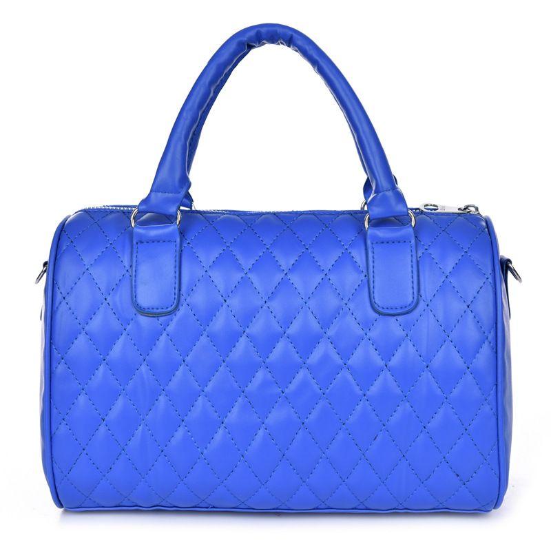 Arrival Female PU Leather Handbags Crossbody Bags Women's Motorcycle Shoulder Bags Handbags Girl's Casual Diamond LatticeTotes Bags