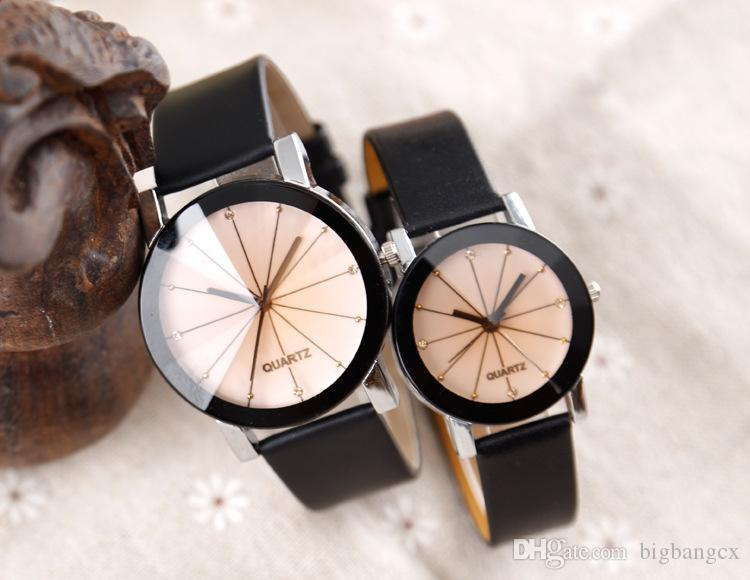 Hombres Relojes de mujer Punto de lujo Relojes de diamante Puntos clásicos ocasionales Diamante de cuero Relojes para hombre Amante Diseñador de moda Reloj para pareja.