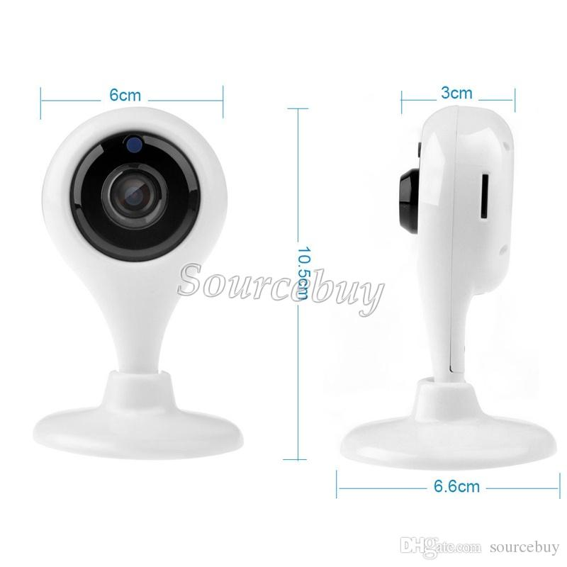 New P2P Network Card Camera Support TF Card HD 720P Lens Baby Security Surveillance Wireless IP Cameras Night Vision Video Moniter Wifi Cam