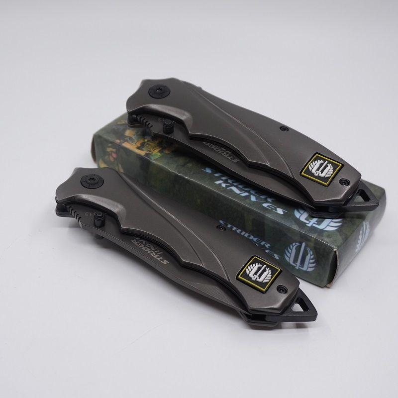 Strider Messer Voll Titan Klapp Taschenmesser Outdoor Multifunktions Camping EDC Werkzeuge 5Cr13 Stahl Klinge Jagd Überleben Taktisches Messer