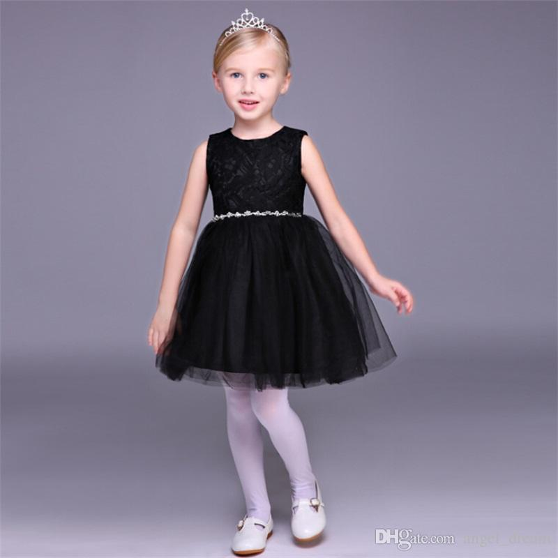 Sweet Flower Girl Dresses For Wedding Short Little Girls Kids