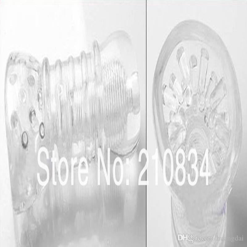 Entrenador de pene de envío gratuito de Kato Taka estilos Kato Taka taza slicone transparente: evolución, SEXO JUGUETES / NO.5