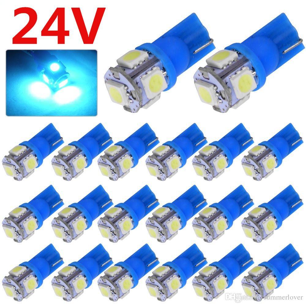 Großhandel Auto Selbst SUV DC 24V Kühles Eis Blau T10 LED