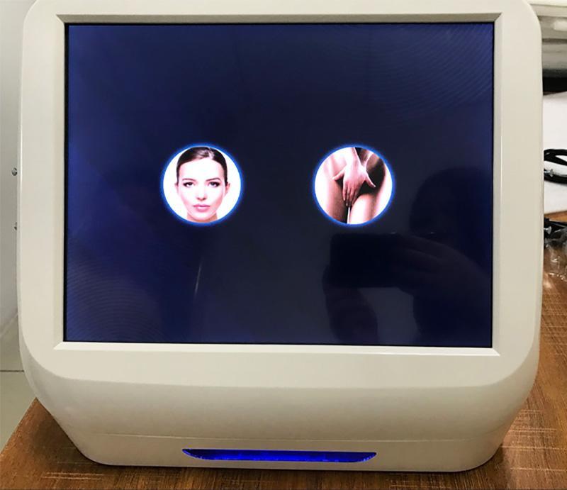 3in1 macchina di lifting facciale professionale di hifu che stringe la macchina hifu di serraggio ad alta intensità ha focalizzato la perdita di peso del corpo di ultrasuono 7 cartucce