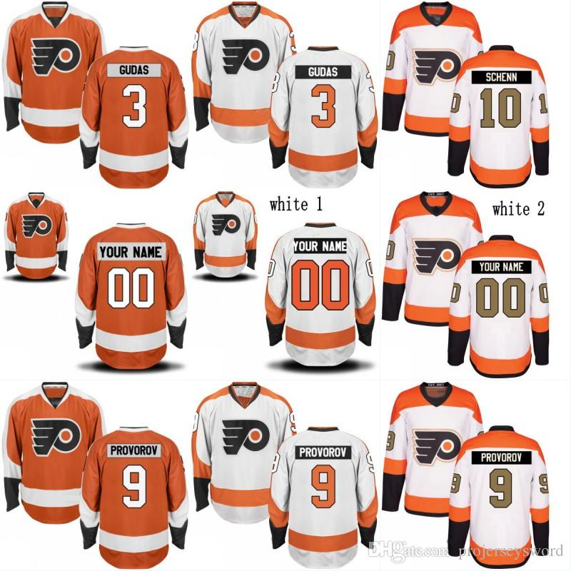 71d468845ca 2019 Philadelphia Flyers Jersey 28 Claude Giroux 19 Nolan Patrick 17 Wayne  Simmonds 3 Radko Gudas 9 Ivan Provorov 11 Travis Konecny Jerseys From ...