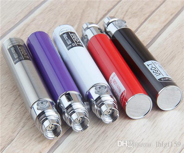 2018 Ugo T ego Passthrough Battery 650 mAH Electronic Cigarette Android Battery Fit For Wax Oil CE3 Vape Cartridge Vaporizer