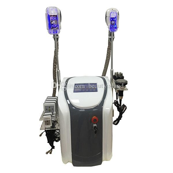 Профессиональные двойные ручки Cryolipolysis Failze Fat Lipolaser Cavitation RF Жир замерзание Cryo Form Cool Body Sculpting Body Slimume Machine