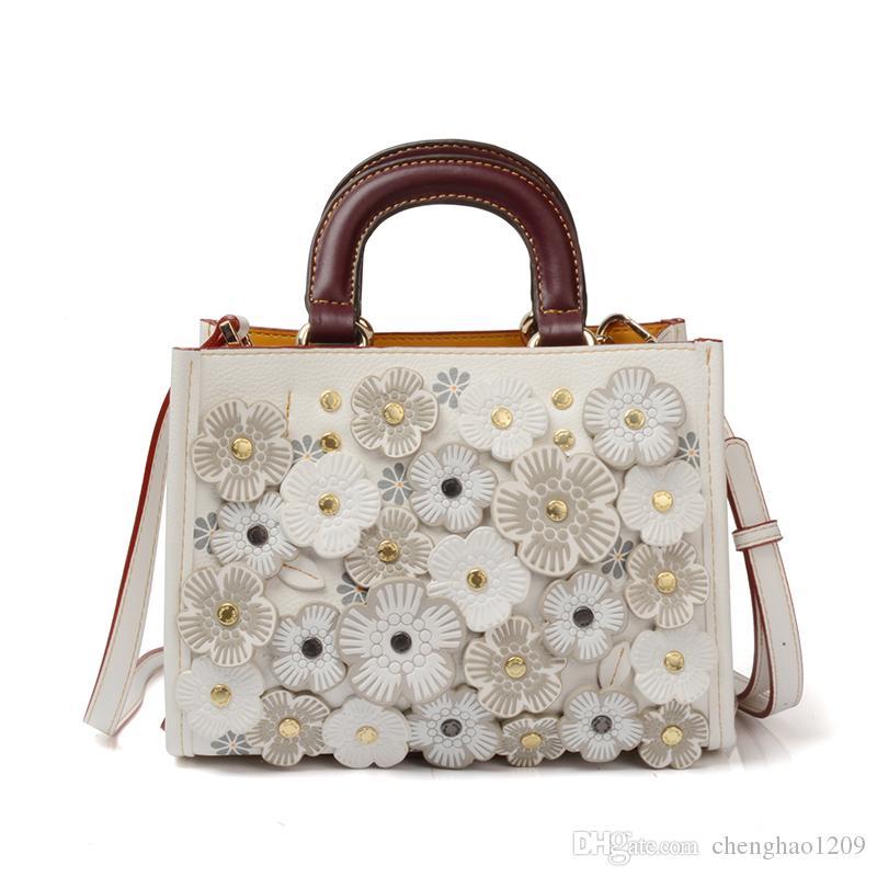 Autumn Winter NEW Fashion Women Floral Handbags
