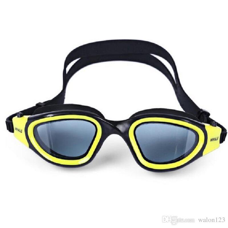 79f63d62b Compre Atacado Anti Nevoeiro Óculos De Proteção UV Óculos De Natação Óculos  De Proteção Anti Fog 3D Silicone À Prova D  Água Protetor De Olho De  Mergulho ...