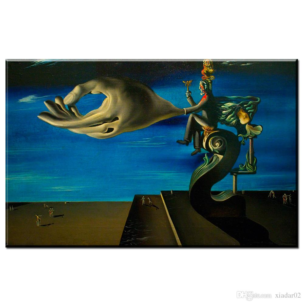 ZZ2049 Abstract Painting Salvador Dali Surreal Artwork Vintage Art canvas posters prints art unframwed for home decoration