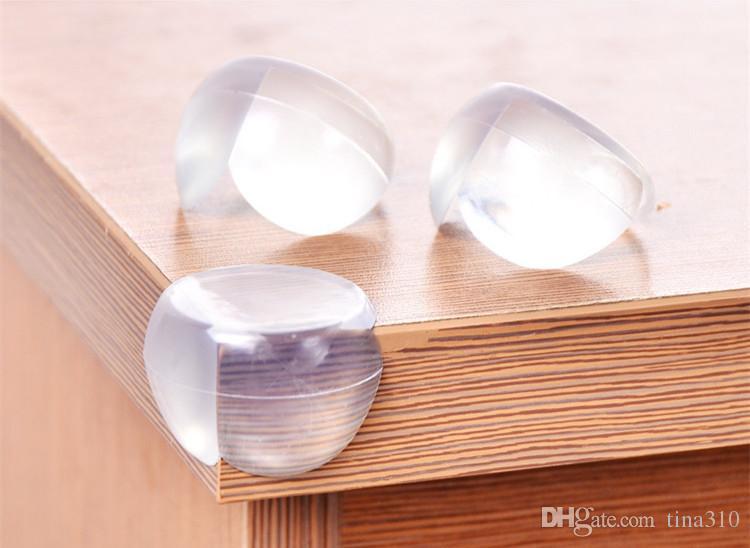 아기 어린이 안전 관리 볼 모양드 보호 감시 덮개 테이블의 충돌 방지 쿠션 가장자리와 스티커 IB287