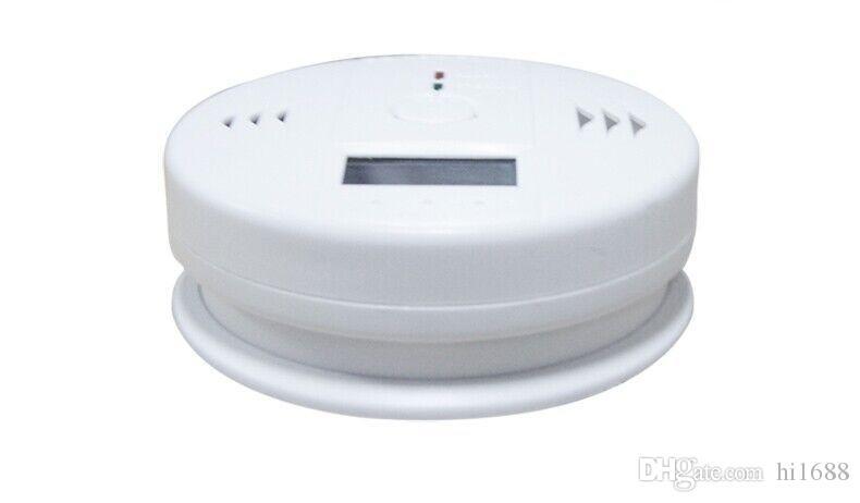 Yüksek Duyarlı Dijital LCD Arka Karbon Monoksit Dedektörü Test Cihazı Zehirlenmesi CO Gaz Sensörü Alarm Ev Güvenlik Güvenlik Perakende kutus ...