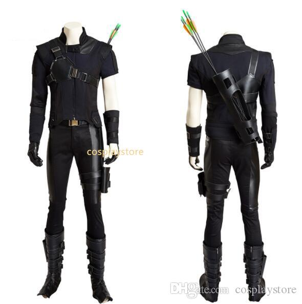 2017 Cosplay Costume Hawkeye Costume Captain America Civil War Cosplay Menu0027S Jumpsuit Adult Custom Made Halloween Costumes For 3 People Group Office Themes ...  sc 1 st  DHgate.com & 2017 Cosplay Costume Hawkeye Costume Captain America Civil War ...