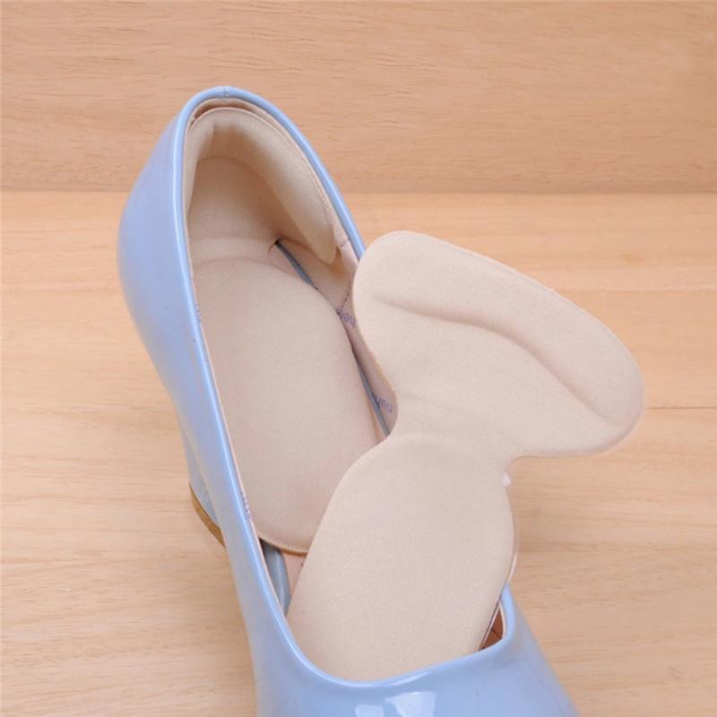 Multifunktionale T Form Gel Heel Kissen Schuheinlagen Liner Foot Protector 500 Paare für Freies Verschiffen