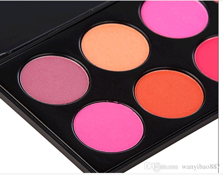Fard alta qualità! HOT Red Cheek Rouge Colore Piatto di qualità Fine Lubrificazione 200 G